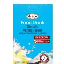 GRACE FOOD DRINK SMOOTH VANILLA 120g