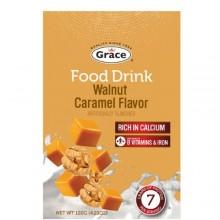 GRACE FOOD DRINK WALNUT CARAMEL 120g