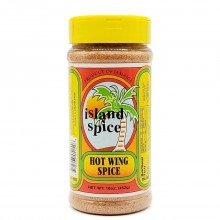 ISLAND SPICE HOT WING SPICE 16oz