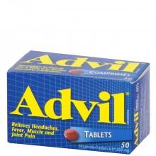 ADVIL TABLETS 50s