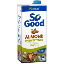 SO GOOD ALMOND MILK UNSWEETENED 1L
