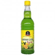 ANCHOR SYRUP LEMON LIME 750ml