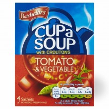 BATCHELORS CUP A SOUP TOMATO 104g
