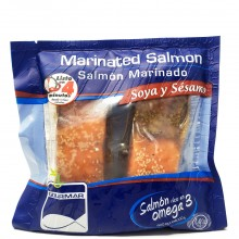GOURMAR SALMON MARINATED SOY&SESAME 11oz