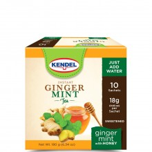 KENDEL TEA GINGER MINT HONEY 10s