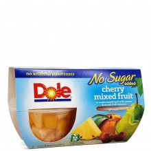 DOLE MIXED FRUIT CHERRY NO SUGAR 4x4oz