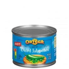 ORTEGA DICED JALAPENOS 4oz
