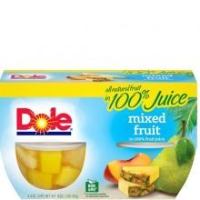 DOLE MIXED FRUIT 4x4oz