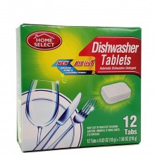 HOME SELECT DISHWASHER TABS 12s