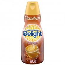 INTL DELIGHT HAZELNUT 32oz
