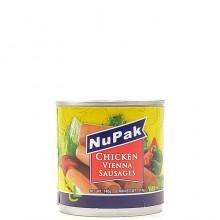 NUPAK VIENNA SAUSAGES CHICKEN H&S 114g