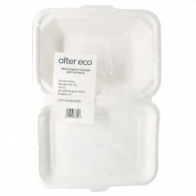 ALTER ECO BAGASSE CLAMSHELL 600ml 50ct