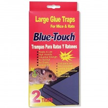 BLUE TOUCH MOUSE TRAPS LRG 2s