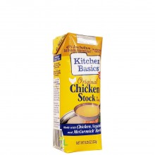 KITCHEN BASIC CHICKEN STOCK ORIGINAL 8.25oz