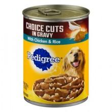 PEDIGREE CHOICE CUTS CHICKEN & RICE 375g