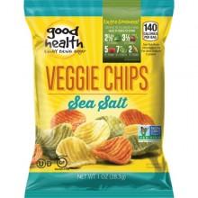 GOOD HEALTH VEGGIE CHIPS SEA SALT 1oz