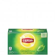 LIPTON TEA GREEN 100% 20s