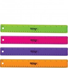 ACHIEVA PLASTIC RULER 1ct