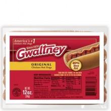 GWALTNEY CHICKEN FRANKS 12oz
