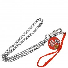 BOW-WOW VALUE DOG CHAIN LEASH 1ct