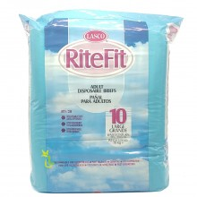 LASCO RITEFIT ADULT DIAPERS LRG 10s