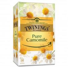 TWININGS TEA PURE CAMOMILE 20s