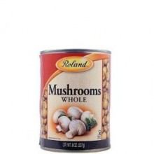 ROLAND MUSHROOMS WHOLE 8oz