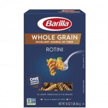 BARILLA ROTINI WHOLE GRAIN 13.25oz