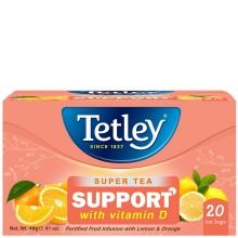 TETLEY TEA SUPER SUPPORT 20s