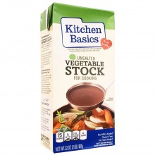 KITCHEN BASIC VEG STOCK UNSALTED 32oz