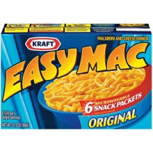 KRAFT EASY MAC ORIG (6pk) 9oz