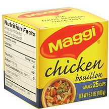 MAGGI CUBES CHICKEN 100g