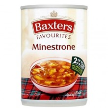 BAXTERS SOUP MINESTRONE 400g