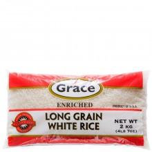 GRACE RICE LONG GRAIN WHITE 2kg