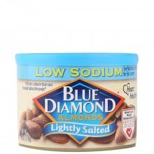 BLUE DIAMOND ALMOND RSTD LIGHT SALT 170g