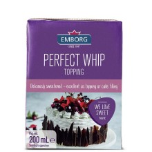 EMBORG PERFECT WHIP TOPPING 200ml