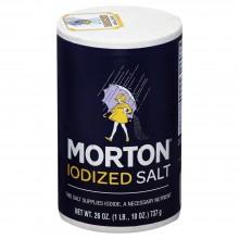 MORTON IODIZED SALT 737g