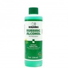 BENJAMINS RUBBING ALCOHOL WG 250ml