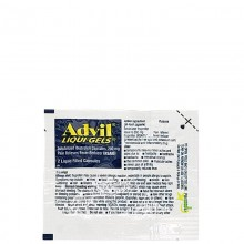 ADVIL LIQUID GELS 2s