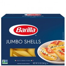 BARILLA SHELLS JUMBO 12oz