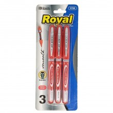 BAZIC ROYAL ROLLER BALL PEN 3s