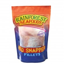 RAINFOREST SNAPPER RED FILLETS 454g