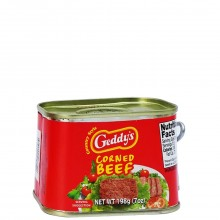 GEDDYS CORNED BEEF 7oz