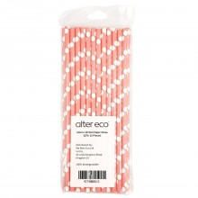 ALTER ECO PAPER STRAW 6x197mm 25ct