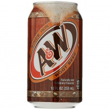 A&W ROOT BEER 12oz