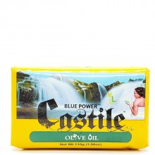 BLUE POWER CASTILE OLIVE OIL 110g