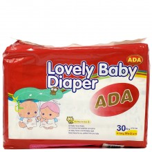ADA BABY DIAPER MED 26s