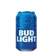 BUD LIGHT CAN 355ml