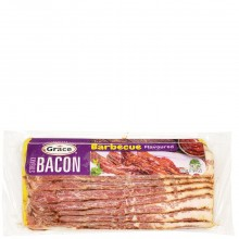 GRACE STREAKY BBQ BACON 225g