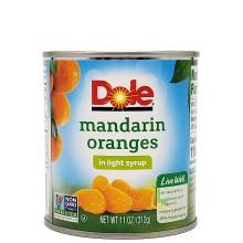 DOLE MANDARIN ORANGES 11oz